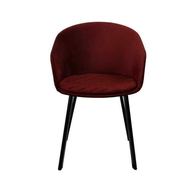 DINING CHAIR VIC - RED