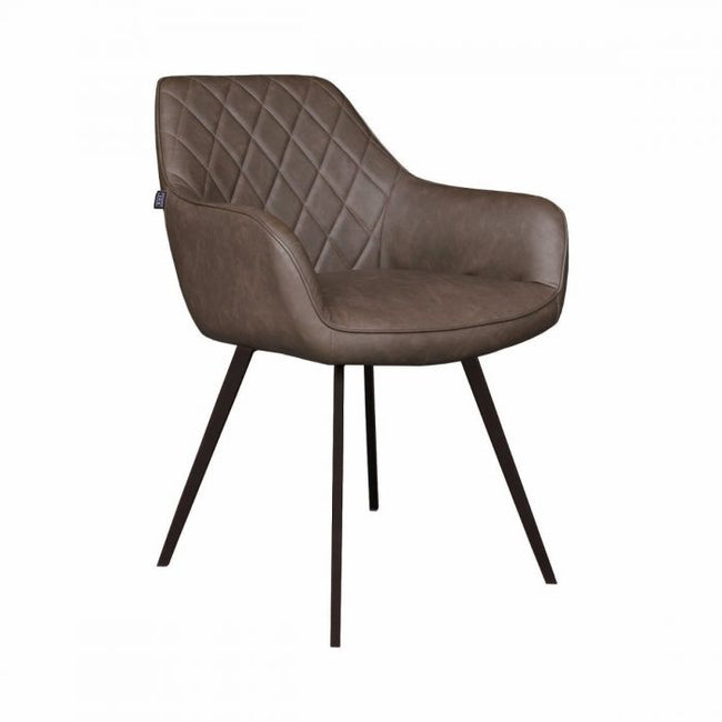 DINING CHAIR  KARL  - BROWN