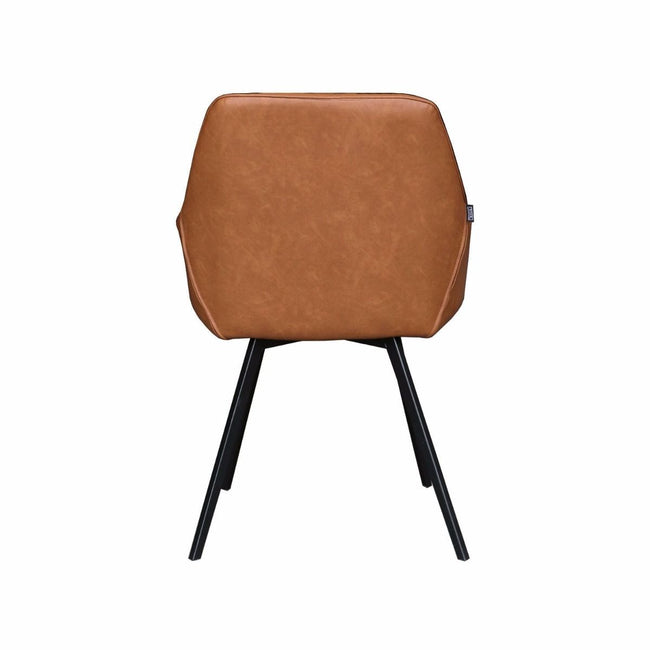 DINING CHAIR KARL - COGNAC
