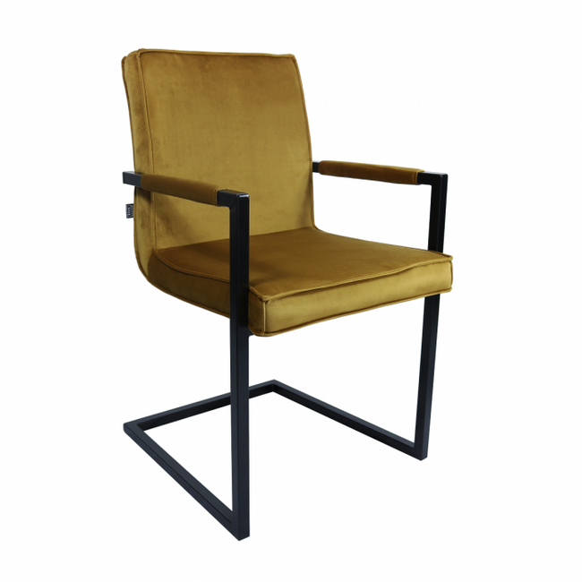 VELVET DINING CHAIR JIM - OKER