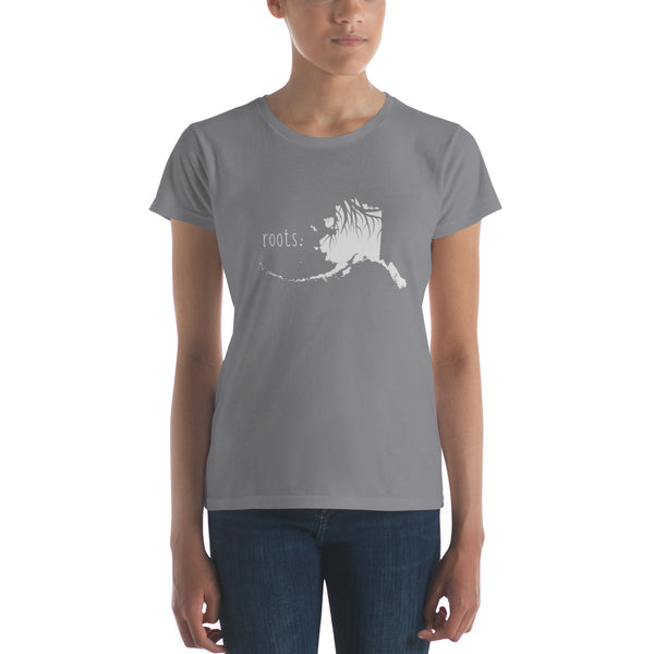 Alaska Roots Ladies Tee - OnlyInYourState Apparel