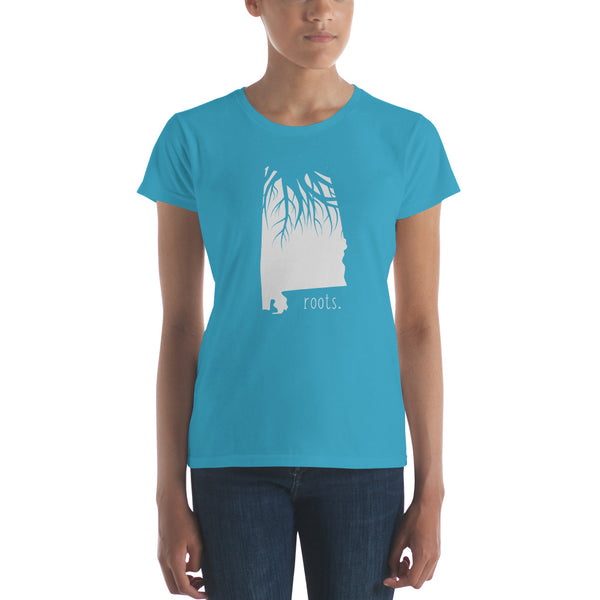 Alabama Roots Ladies Tee - OnlyInYourState Apparel