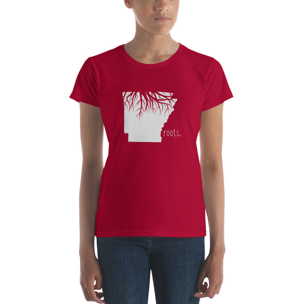 Arkansas Roots Ladies Tee - OnlyInYourState Apparel