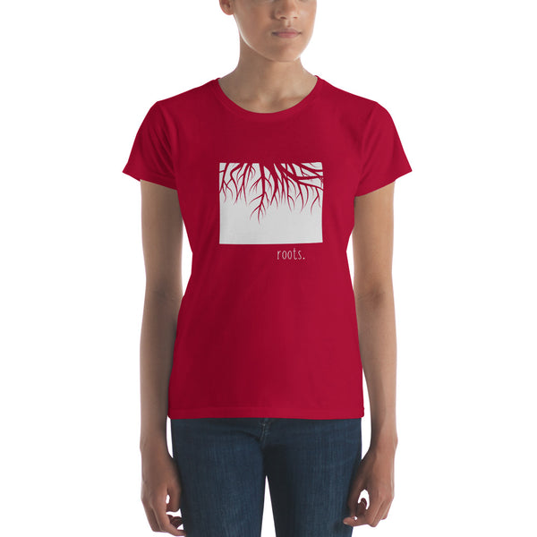 Colorado Roots Ladies Tee - OnlyInYourState Apparel
