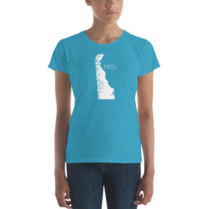 Delaware Roots Ladies Tee - OnlyInYourState Apparel