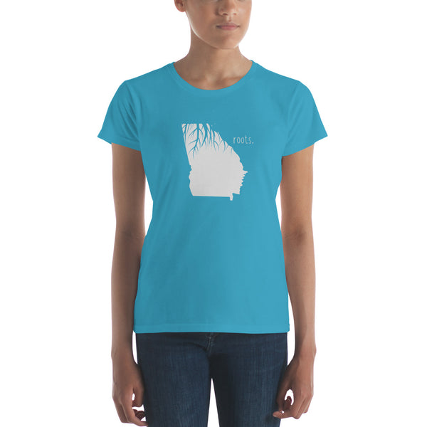 Georgia Roots Ladies Tee - OnlyInYourState Apparel