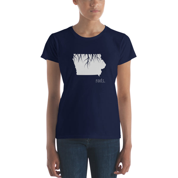 Iowa Roots Ladies Tee - OnlyInYourState Apparel