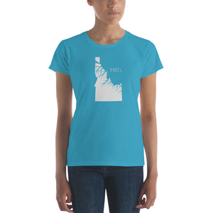Idaho Roots Ladies Tee - OnlyInYourState Apparel