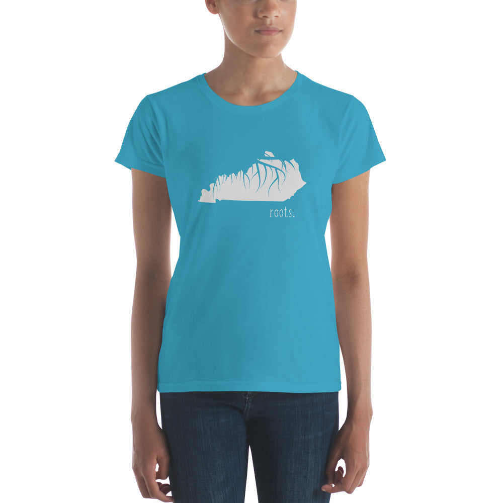 Kentucky Roots Ladies Tee - OnlyInYourState Apparel