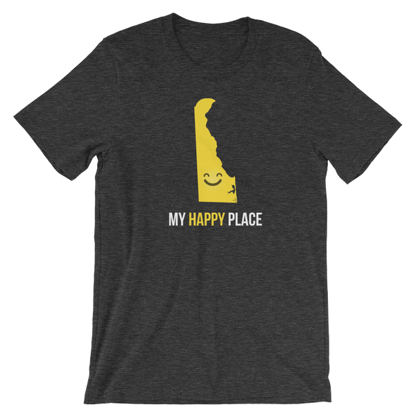 DE Is My Happy Place Shirt - OnlyInYourState Apparel
