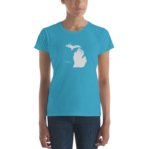 Michigan Roots Ladies Tee - OnlyInYourState Apparel