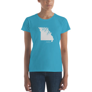 Missouri Roots Ladies Tee - OnlyInYourState Apparel