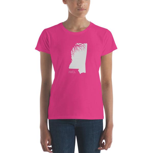 Mississippi Roots Ladies Tee - OnlyInYourState Apparel