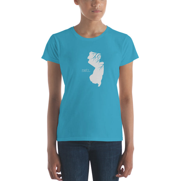 New Jersey Roots Ladies Tee - OnlyInYourState Apparel