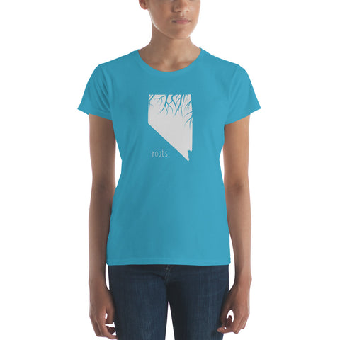 Nevada Roots Ladies Tee - OnlyInYourState Apparel