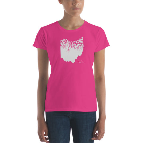 Ohio Roots Ladies Tee - OnlyInYourState Apparel