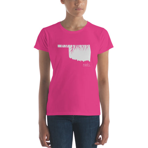 Oklahoma Roots Ladies Tee - OnlyInYourState Apparel