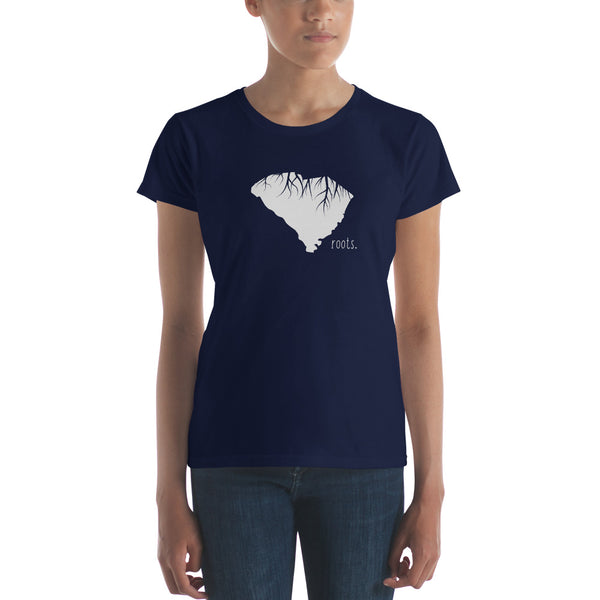South Carolina Roots Ladies Tee - OnlyInYourState Apparel