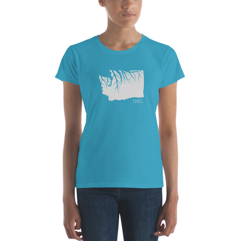 Washington Roots Ladies Tee - OnlyInYourState Apparel