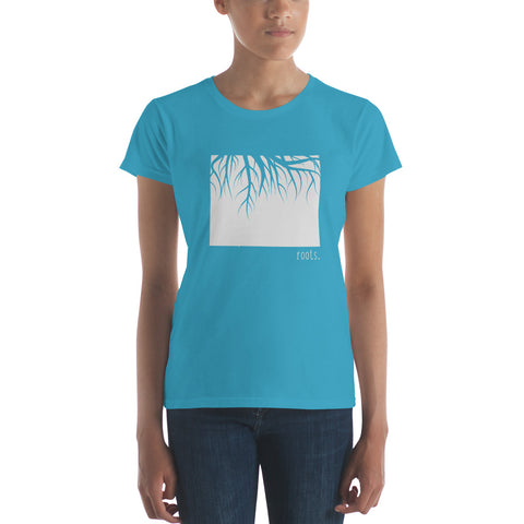 Wyoming Roots Ladies Tee