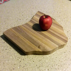 Hand-Made Walnut Ohio State Cutting Board - OnlyInYourState Apparel