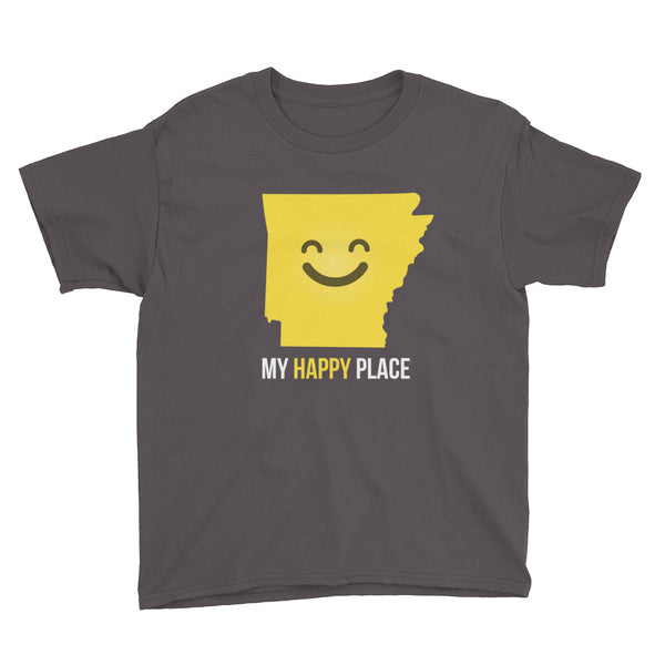 AR Is My Happy Place Kids Tee - OnlyInYourState Apparel