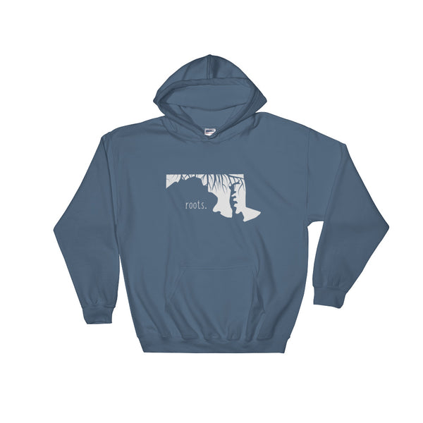 Maryland Roots Hoodie - OnlyInYourState Apparel