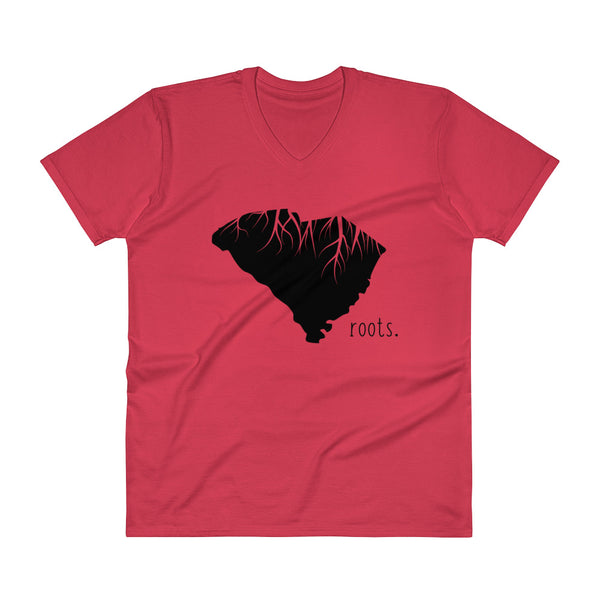 South Carolina Roots V-Neck T-Shirt