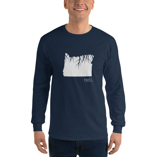 Oregon Roots Long Sleeve T-Shirt - OnlyInYourState Apparel