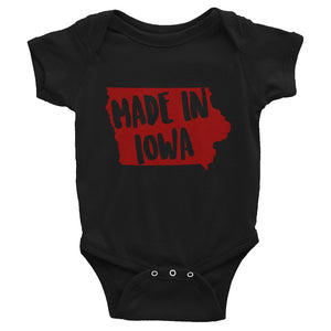 Made In Iowa Onesie - OnlyInYourState Apparel