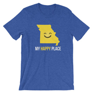 MO Is My Happy Place - OnlyInYourState Apparel