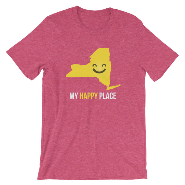 NY Is My Happy Place - OnlyInYourState Apparel