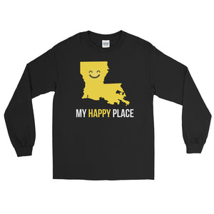 LA Is My Happy Place Long Sleeve T-Shirt - OnlyInYourState Apparel