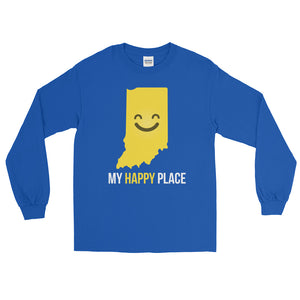 IN Is My Happy Place Long Sleeve - OnlyInYourState Apparel