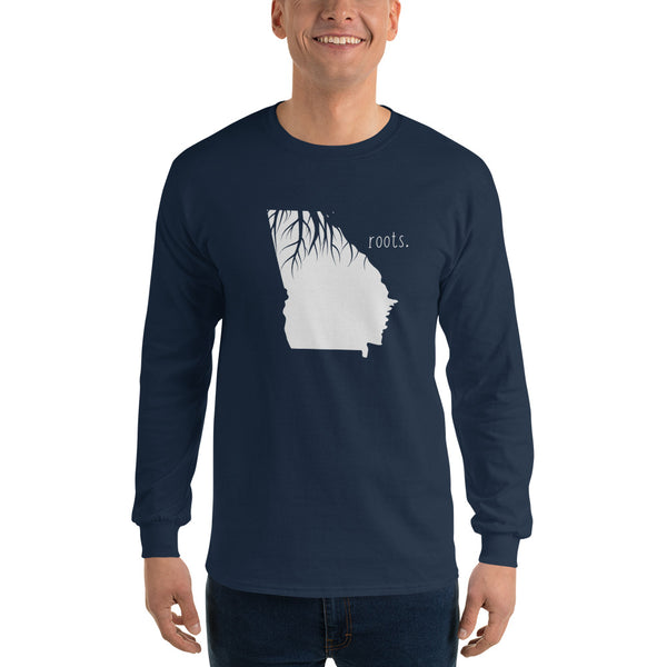 Georgia Roots Long Sleeve T-Shirt - OnlyInYourState Apparel