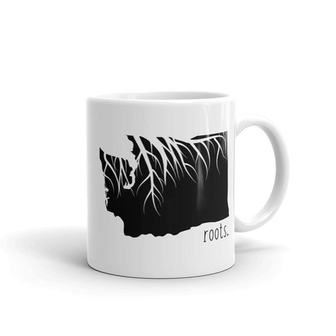 Washington Roots Mug - OnlyInYourState Apparel
