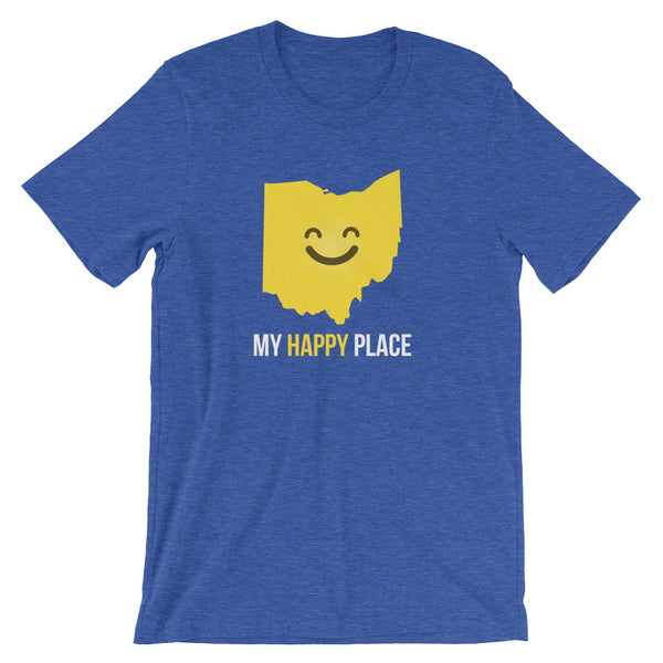 OH Is My Happy Place - OnlyInYourState Apparel