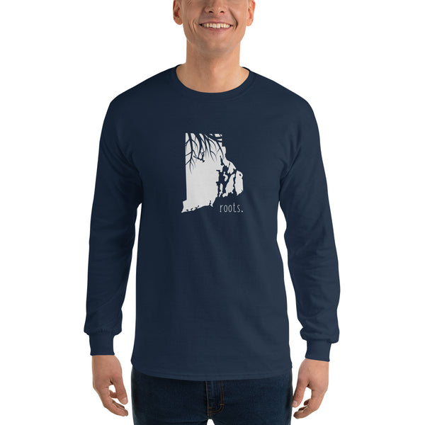 Rhode Island Roots Long Sleeve T-Shirt - OnlyInYourState Apparel