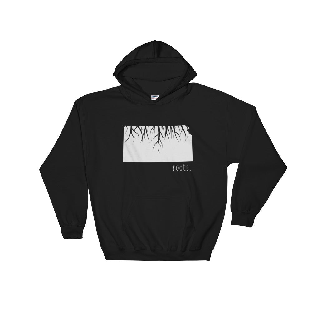 Kansas Roots Hoodie - OnlyInYourState Apparel