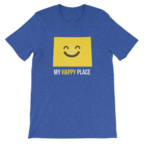 CO Is My Happy Place - OnlyInYourState Apparel