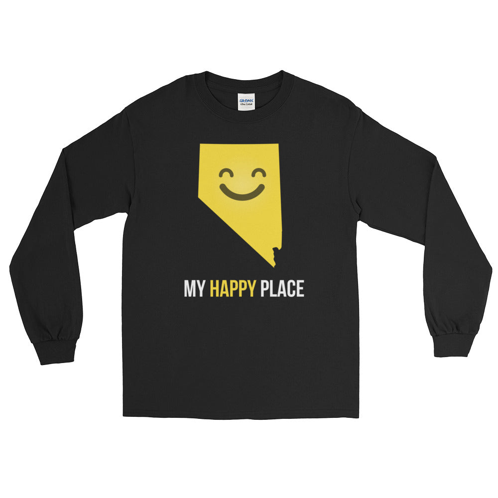 NV Is My Happy Place Long Sleeve - OnlyInYourState Apparel