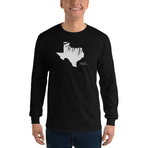 Texas Roots Long Sleeve T-Shirt - OnlyInYourState Apparel