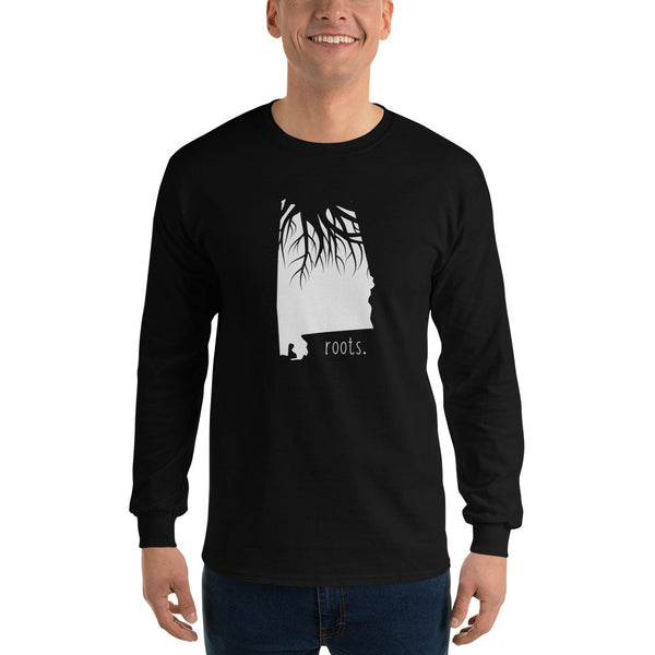 Alabama Roots Long Sleeve T-Shirt - OnlyInYourState Apparel