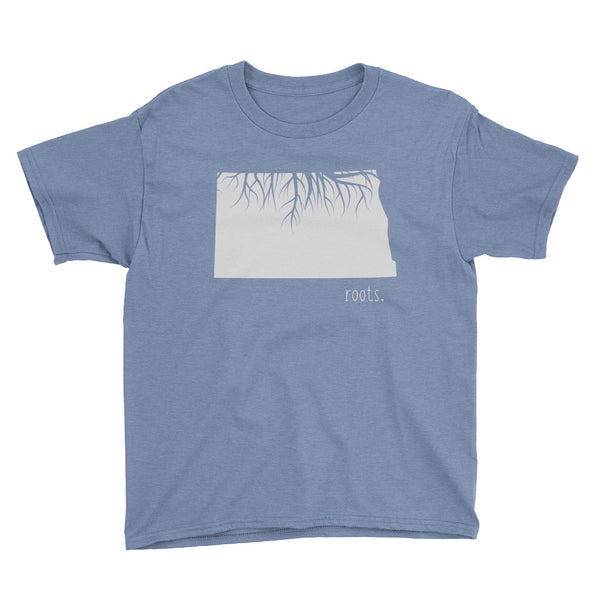 North Dakota Roots Kids Tee - OnlyInYourState Apparel