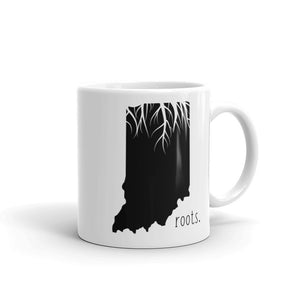 Indiana Roots Mug - OnlyInYourState Apparel