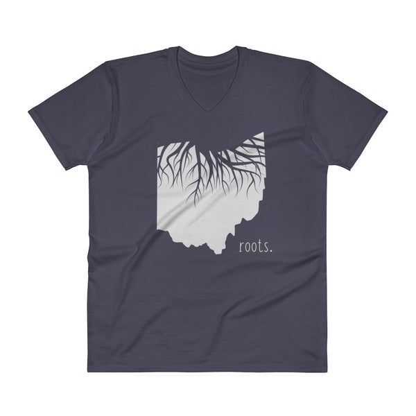 Ohio Roots V-Neck T-Shirt - OnlyInYourState Apparel