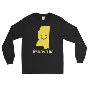 MS Is My Happy Place Long Sleeve - OnlyInYourState Apparel
