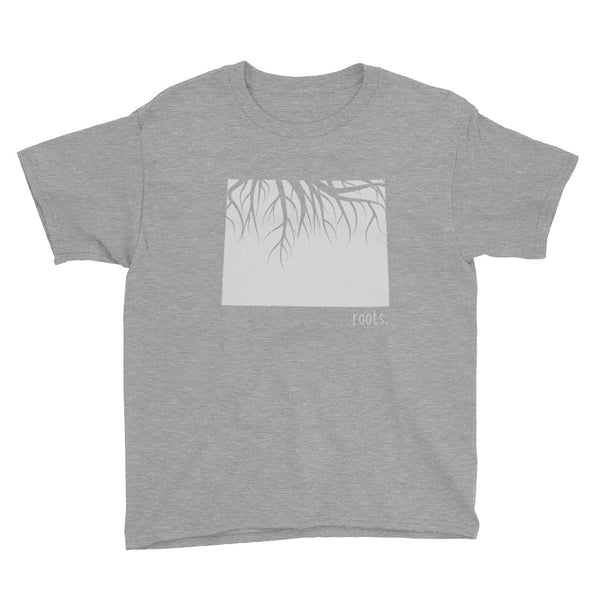 Wyoming Roots Kids Tee - OnlyInYourState Apparel