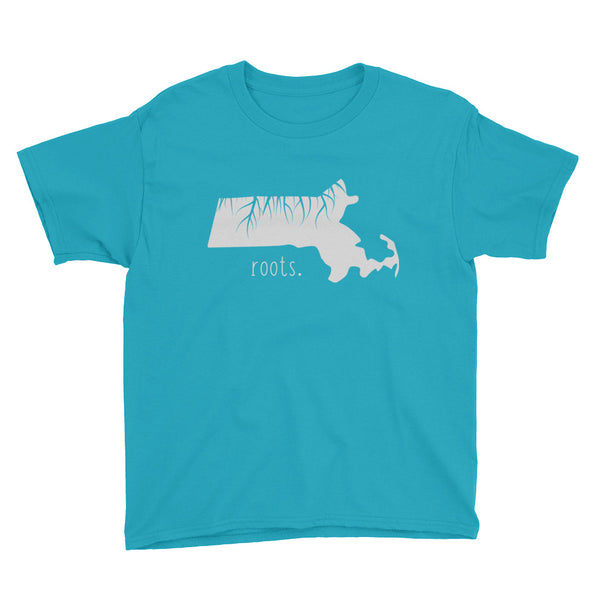 Massachusetts Roots Kids Tee - OnlyInYourState Apparel