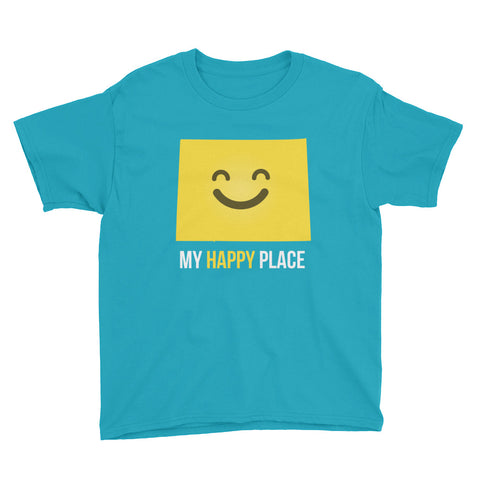 CO Is My Happy Place Kids Tee